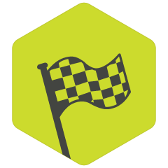 icon of race flag
